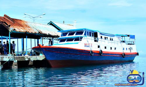 kapal ferry miles II dan paket wisata pulau kelapa kepulauan seribu utara jakarta