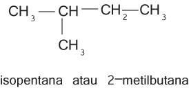 isomer rangka pada pentana