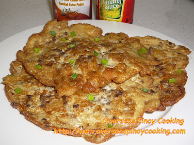 Tortang Beef Giniling - Recipe