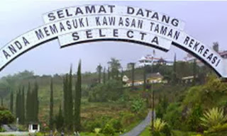 Taman Wisata Selecta di Kota Batu - Malang