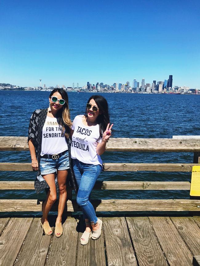 Margarita Tee, Seattle Blogger, Chicago Blogger, Sisters who Blog