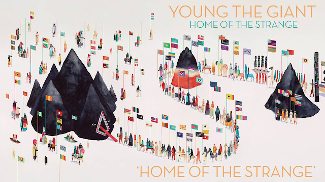 Green Pear Diaries, música, album, Young the Giant, Home of the Strange
