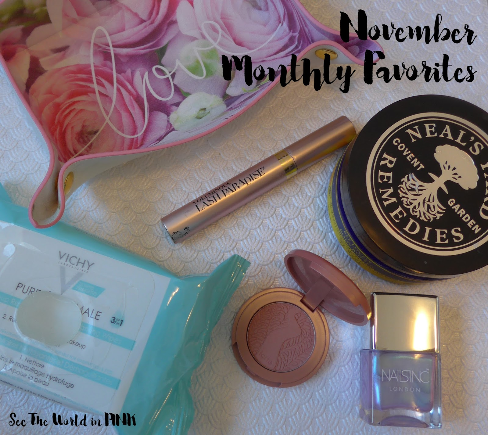 November 2017 - Monthly Favorites!