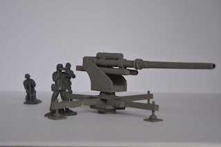German 88 mm at 1/32 scale