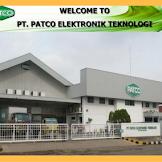 Lowongan Operator Produksi PT.PATCO ELEKTRONIC TEKNOLOGI Terbaru Tahun 2019