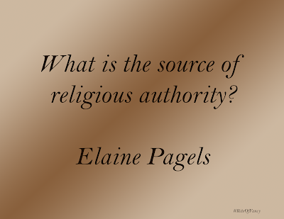 """What is the source of religious authority"""