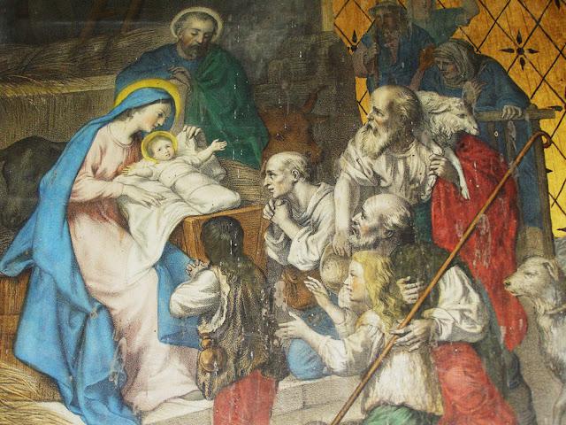 Nativité, église de Bussy Albieux©Défrade