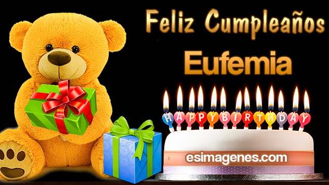 Feliz Cumpleaños Eufemia