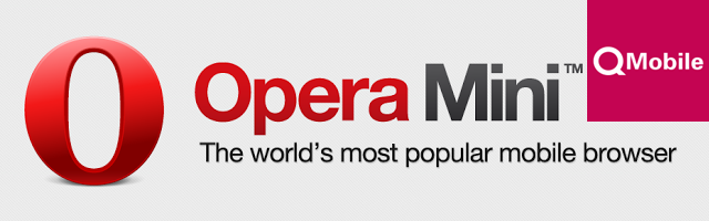 QMobile Opera Mini Agreement