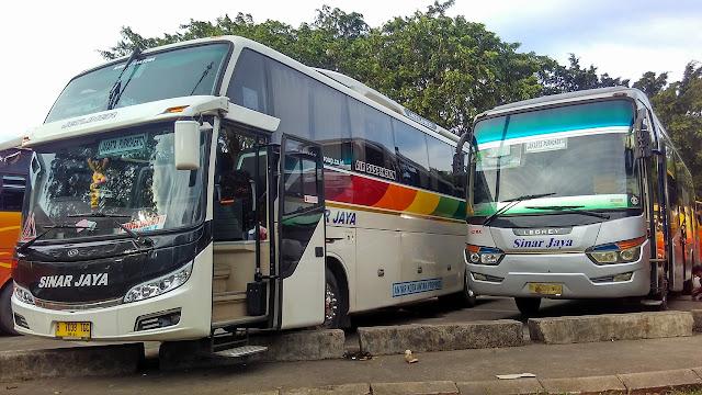 Daftar Harga Tiket Bus Sinar Jaya Terbaru Oktober 2017 (UPDATE)