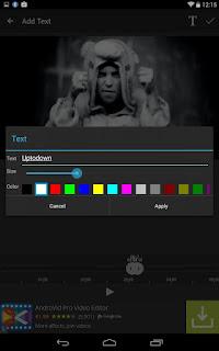 تطبيق AndroVid لعمل مونتاج للفيديوهات للأندرويد اخر اصدار 2018