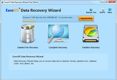 recover deleted files from easeus data recovery