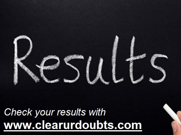 Alagappa University Results 2017