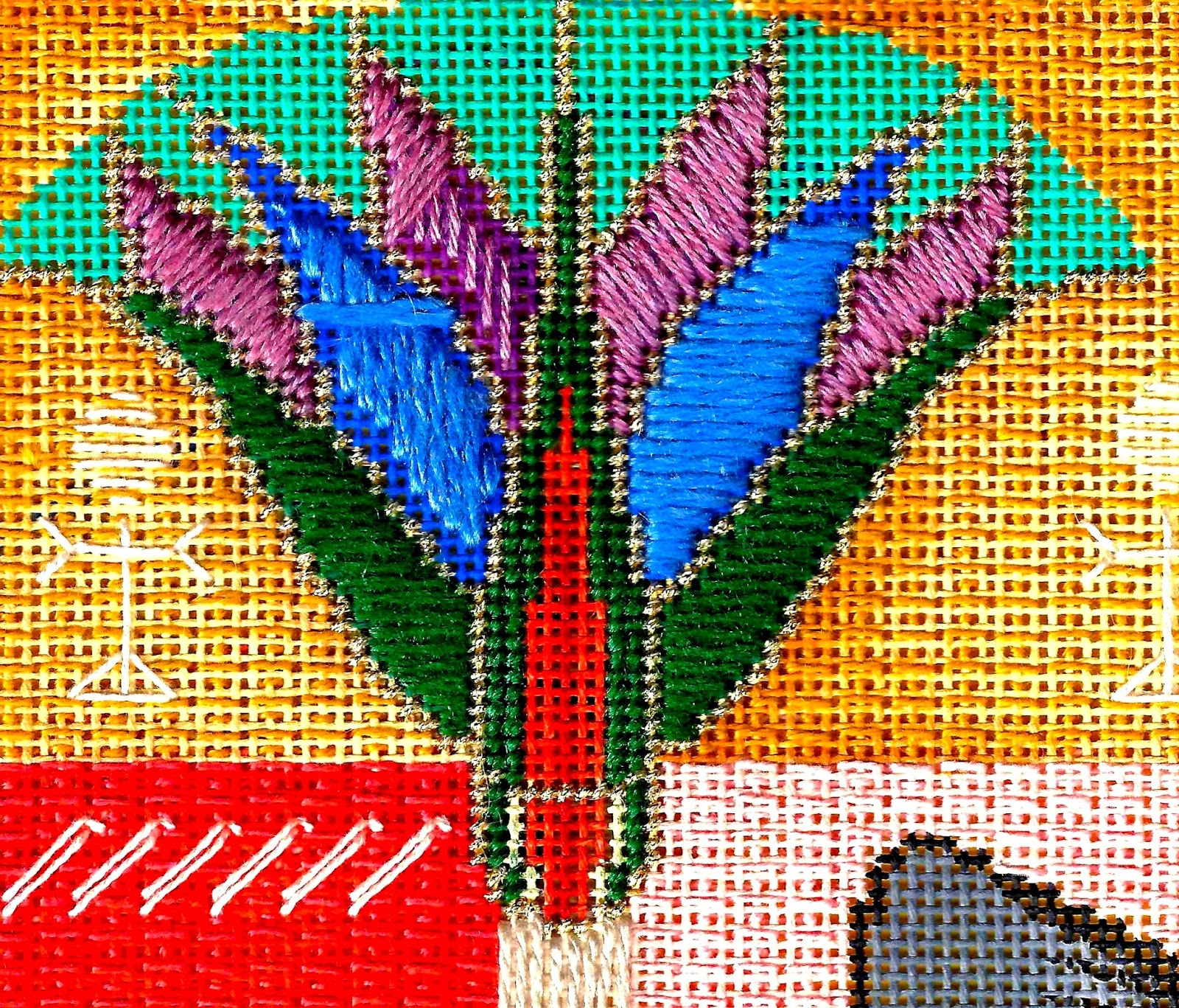 WELCOME To The CHILLY HOLLOW NEEDLEPOINT ADVENTURE: The
