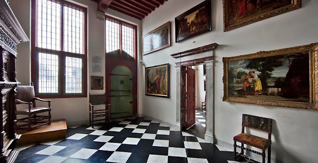Informações da casa de Rembrandt em Amsterdã