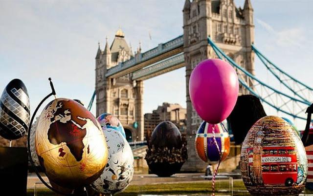 Páscoa em Londres