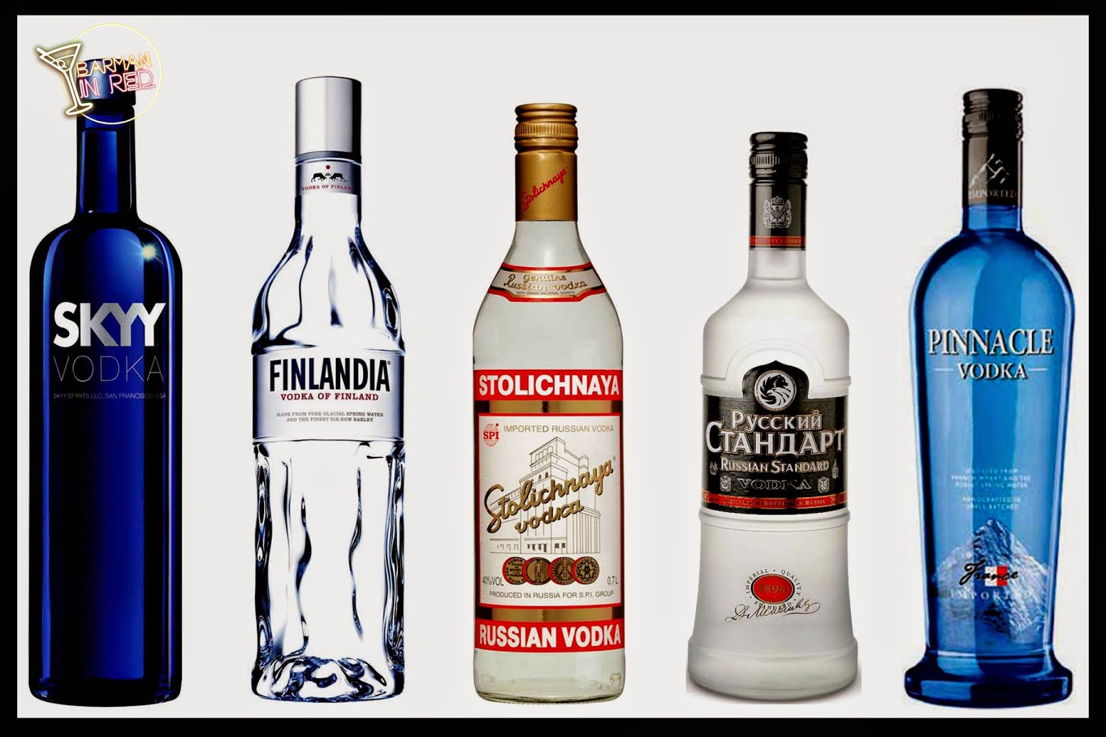top 10 vodkas
