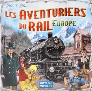 jeu de société les aventuriers du rail