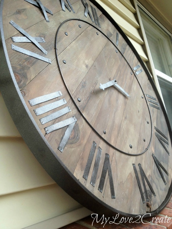 Pottery Barn Knock off Clock