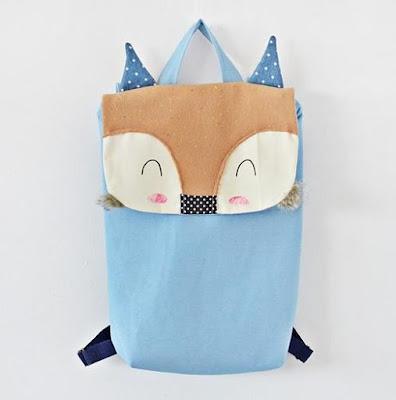 Plecak handmade lis