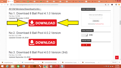 How To Download 8 Ball Pool Old Versions