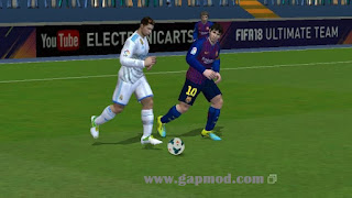 Download FIFA 14 Mod FIFA 18 by Hafiz Apk + Data Obb & Shader