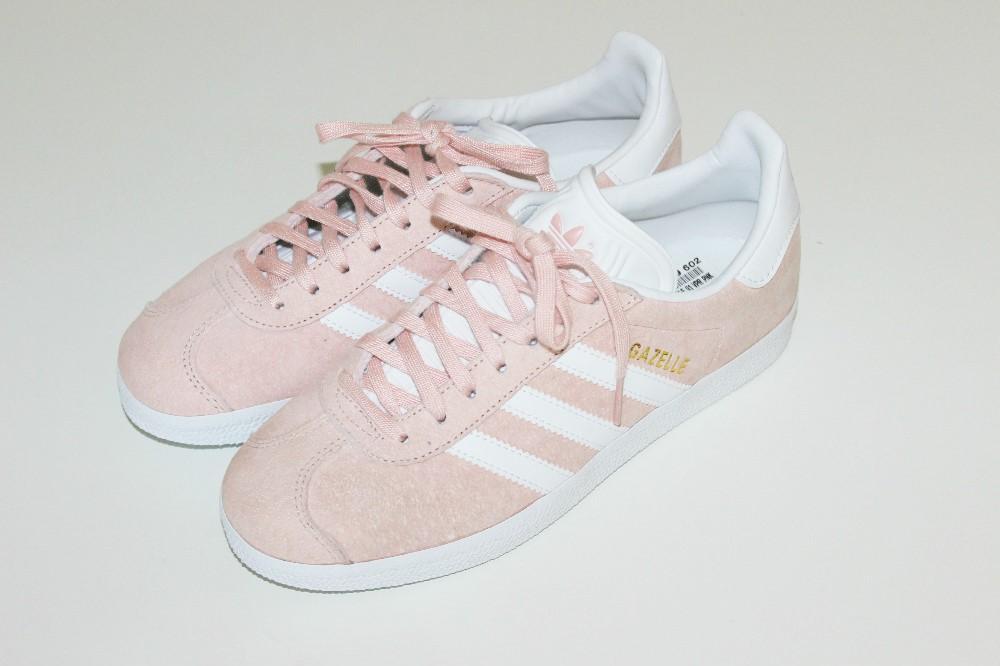 adidas gazelle rosa claro