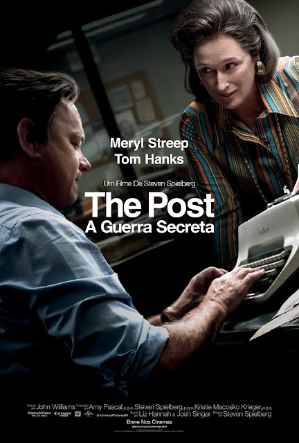 The Post – A Guerra Secreta com Tom Hanks e Meryl Streep