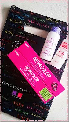 Küçücük Kozmetik Alışverişi | Neva Color Boyalar / Restorex Şampuan
