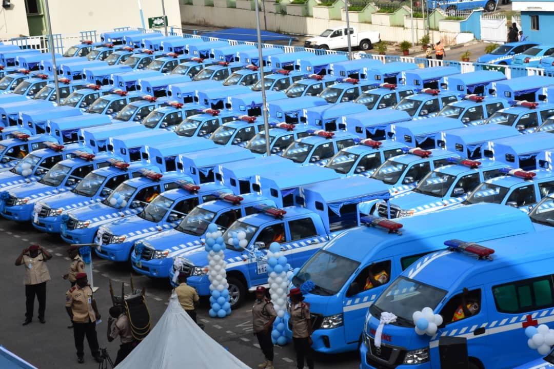 Innoson Motors Delivers 77 New Vehicles To FRSC D4QcR2_WkAEtu4j