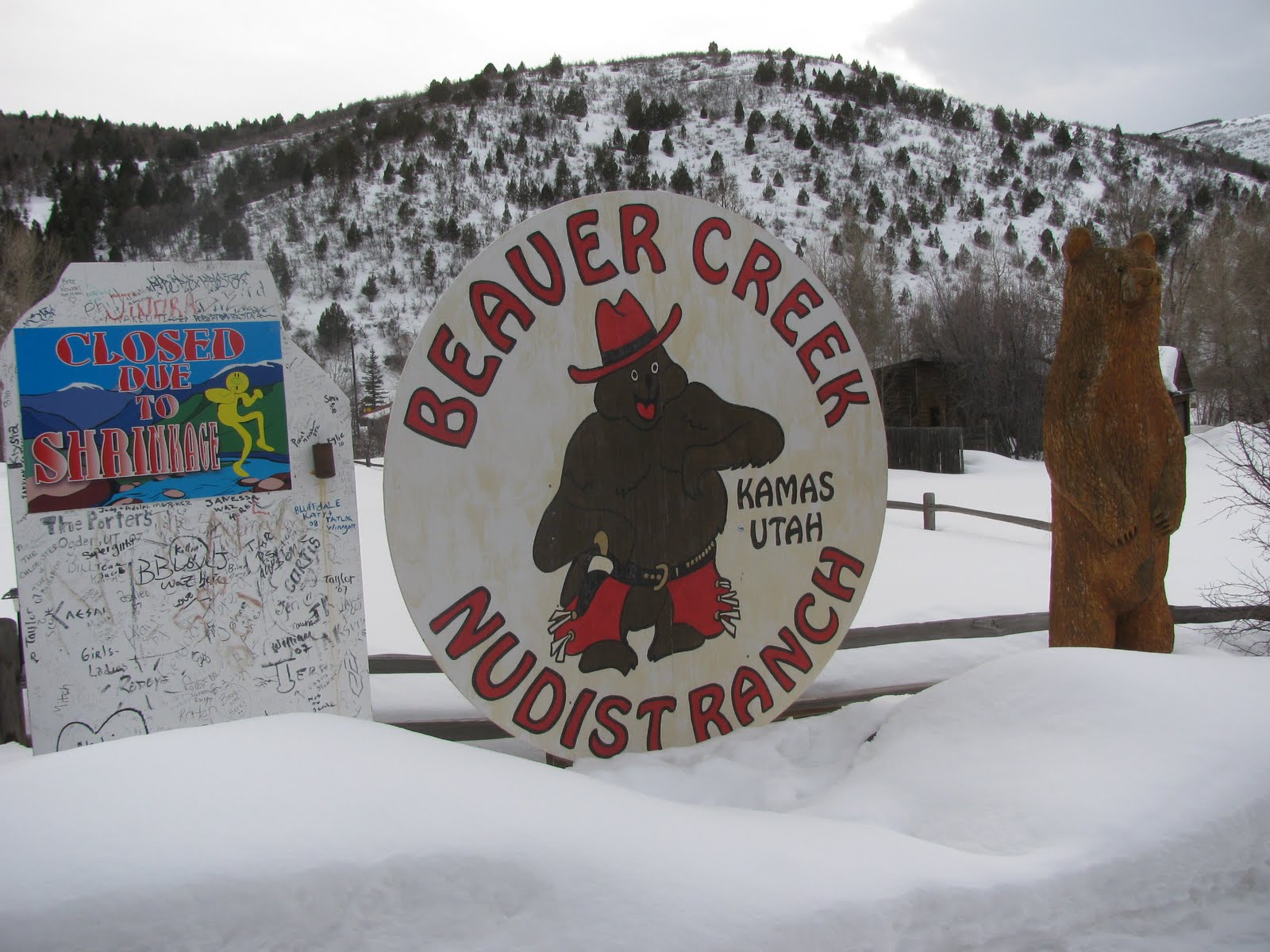 Cannot Beaver creek nudist ranch sorry, that
