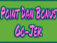 Skema Poin Dan Bonus Gojek Terbaru Jabodetabek
