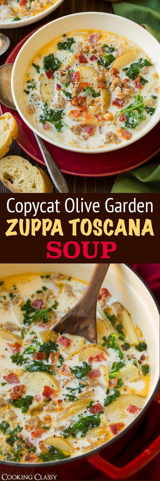 Zuppa Toscana Soup #soup #zuppa #toscana #dinner #maincourse
