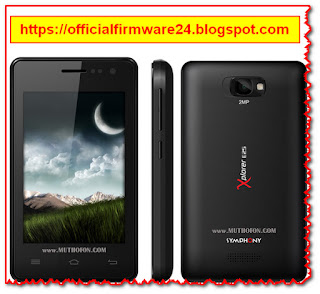 Symphony E25 Official Firmware/ Flash File Free Download