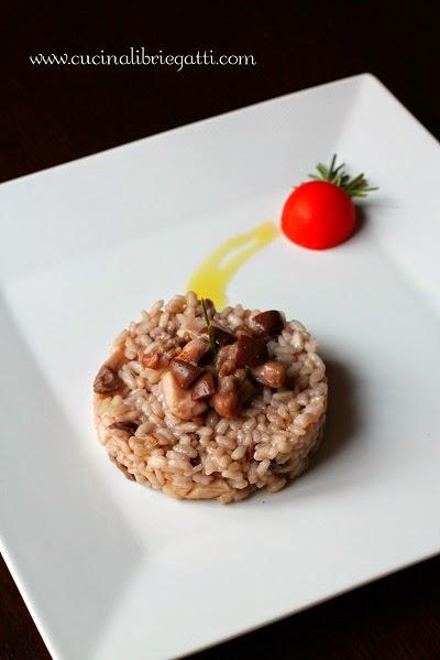 risotto coniglio ricetta olive taggiasche