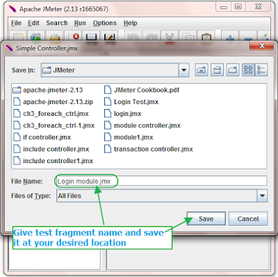 Include Controller in Jmeter