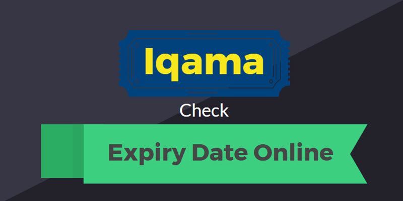 Image result for Check Iqama Expiry Date