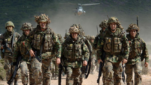 OTAN despliega 1200 fuerzas cerca de fronteras de Rusia