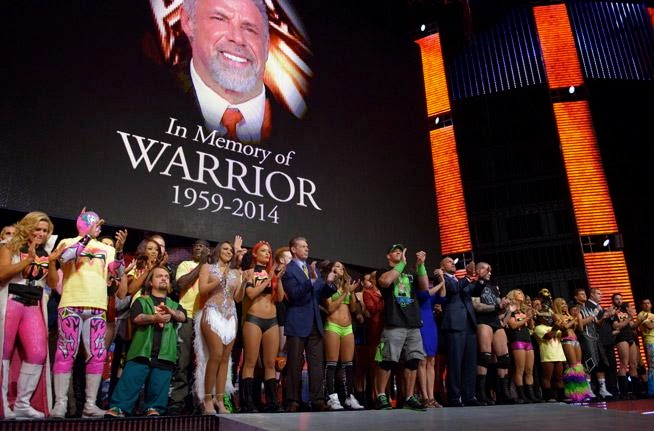 The Other Paper Wwe S Touching Tribute To The Ultimate Warrior Video