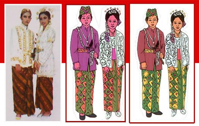 Gambar Pakaian adat Banten