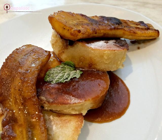 Fluffy Banana Pancake from Little Owl Cafe