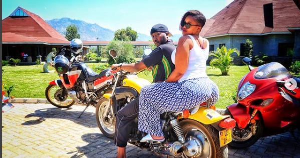 Kamene Goro Big Ass Causes A Stir As She Rides On A Nduthi Men Are Salivating Like Hyenasvideo