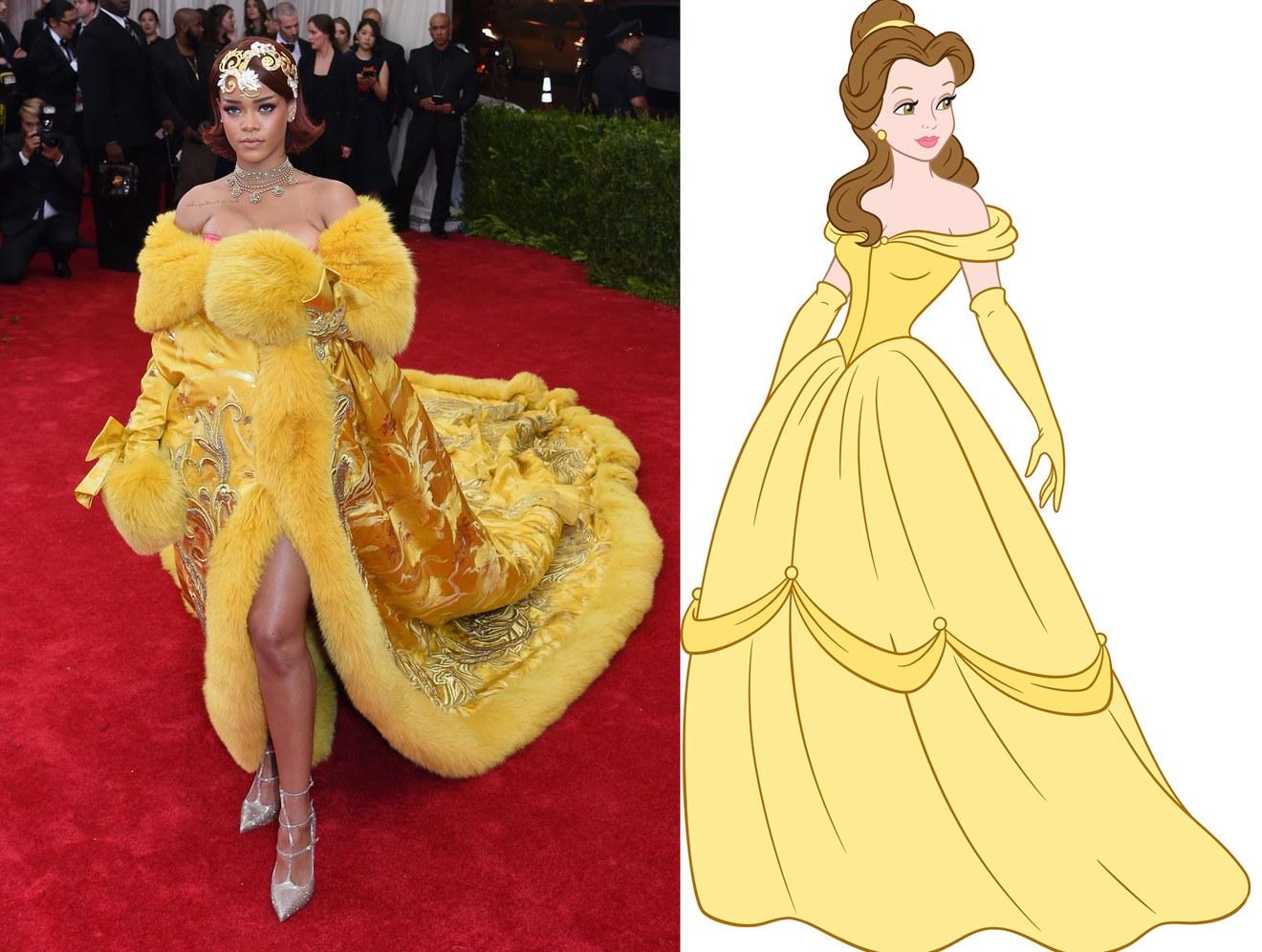 Tech Media Tainment Disney Princesses Reimagined As Abuse Victims Transgender Cats Rihanna