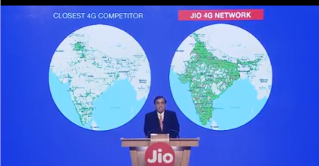 Ambani announces Jio Prime membership program to customers who join before 31 March; Announces Free data for Rs 303 for 12 months till  March 2018