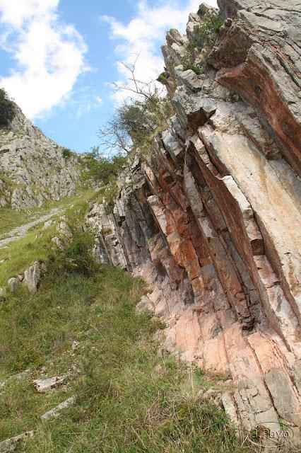 Desfiladero de las Xanas, Asturias, Ruta