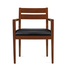 Wood Guest Reception Chair