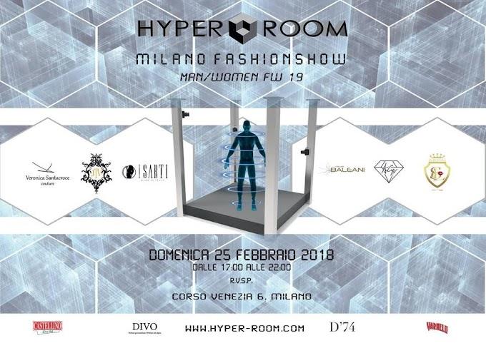 Hyper Room tra sartorialità e tecnologia per la Woman fashion week 2018