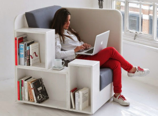 It Is A Comfortable Reading Space For Those Wanting A Quieter Moment, While  Also A Showcase For Books And Magazines Of Any Size And Shape. [Link]