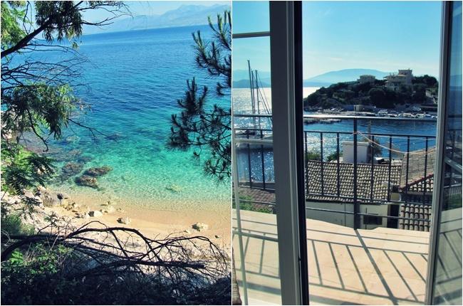 Kasiopi vila sa pogledom na more
