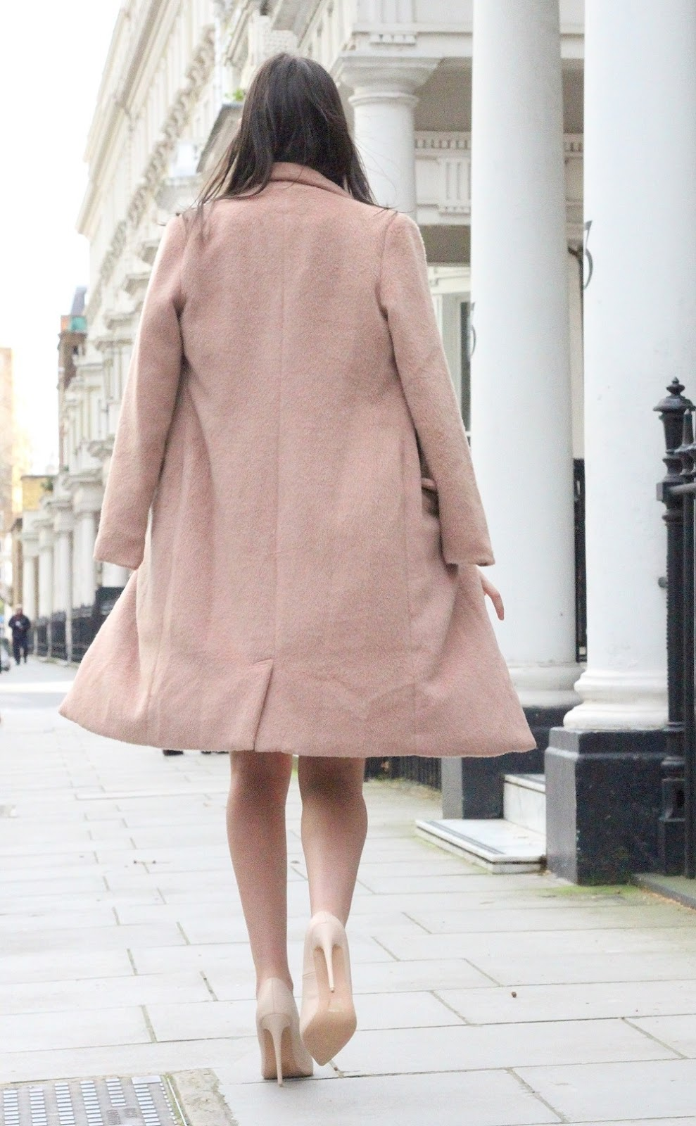 shaggy pink coat lily lulu fashion